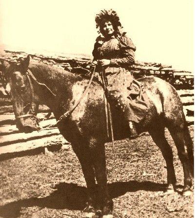 Bet SHE never used a side-saddle.