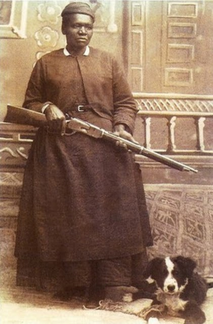 Mary Fields -- All six feet of her!