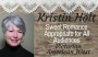 Kristin Holt: Standing in Defiance of Bigotry #LadiesinDefiance